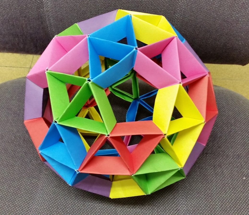 Origami Dodecahedron - YouTube | 894x1038
